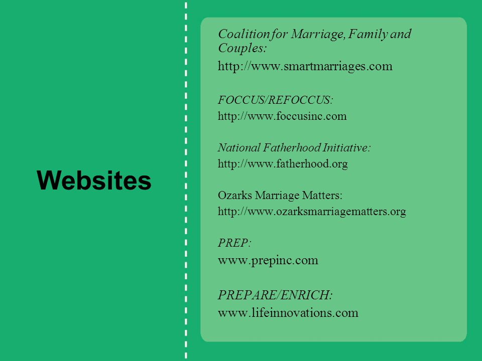 Healthy Marriage and Family Formation Grant