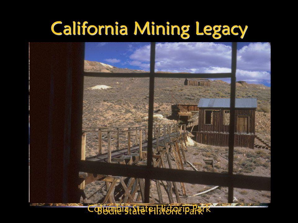 California Mining Legacy