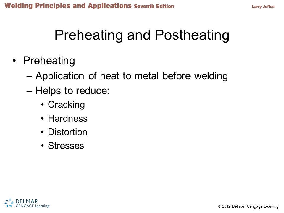 Preheating and Postheating