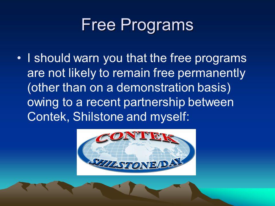 Free Programs