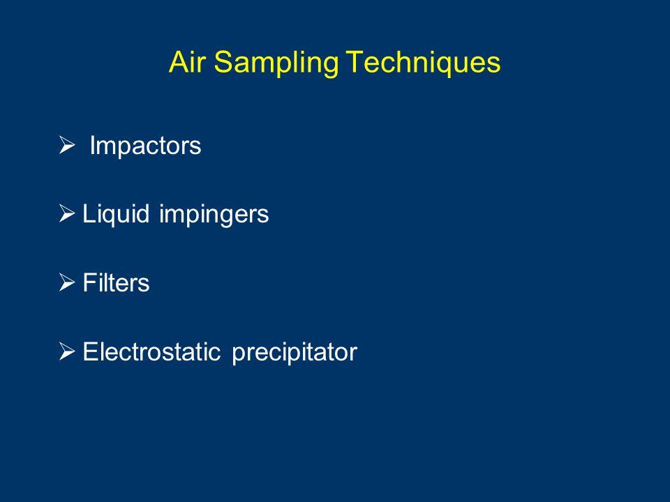 Air Sampling Techniques