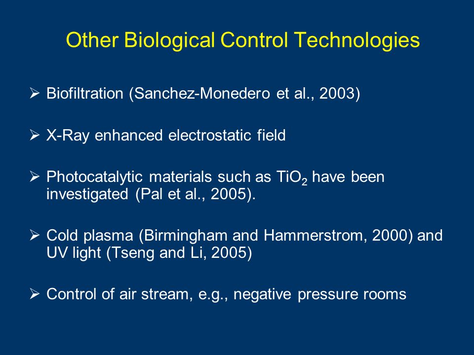 Other Biological Control Technologies