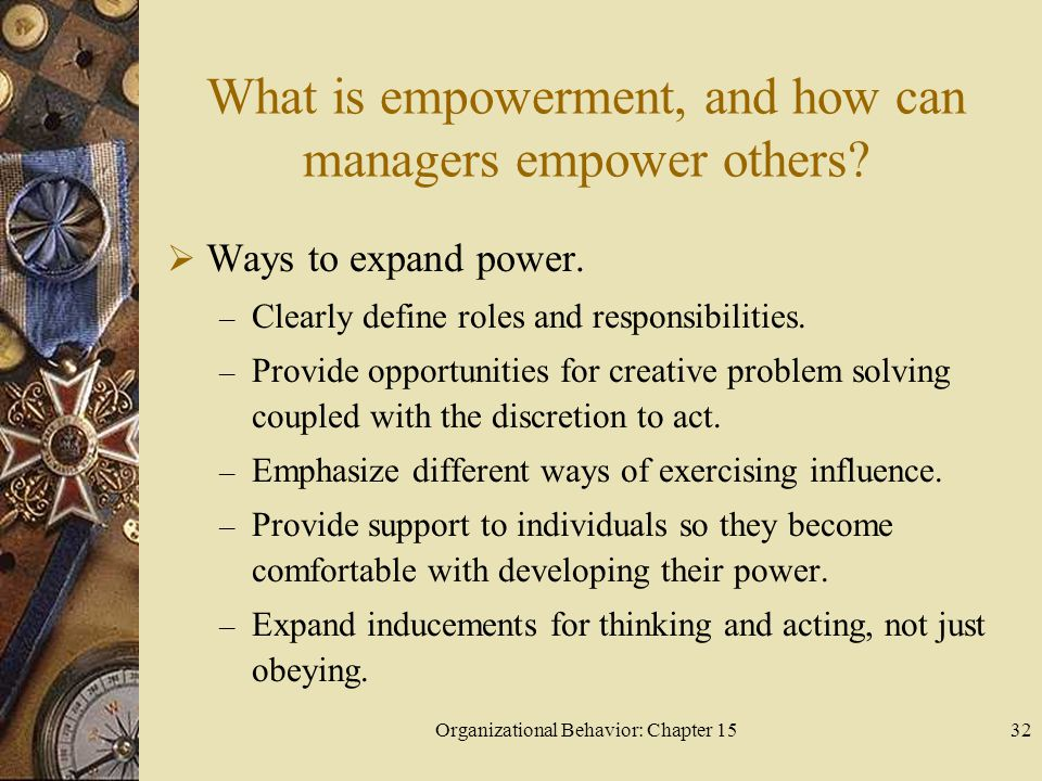 What is empowerment, and how can managers empower others
