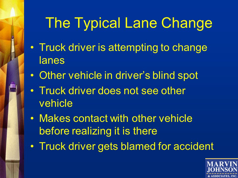 The Typical Lane Change