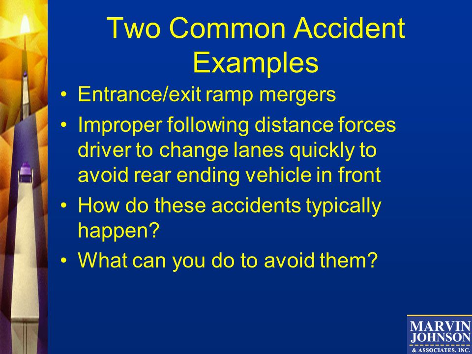 Two Common Accident Examples