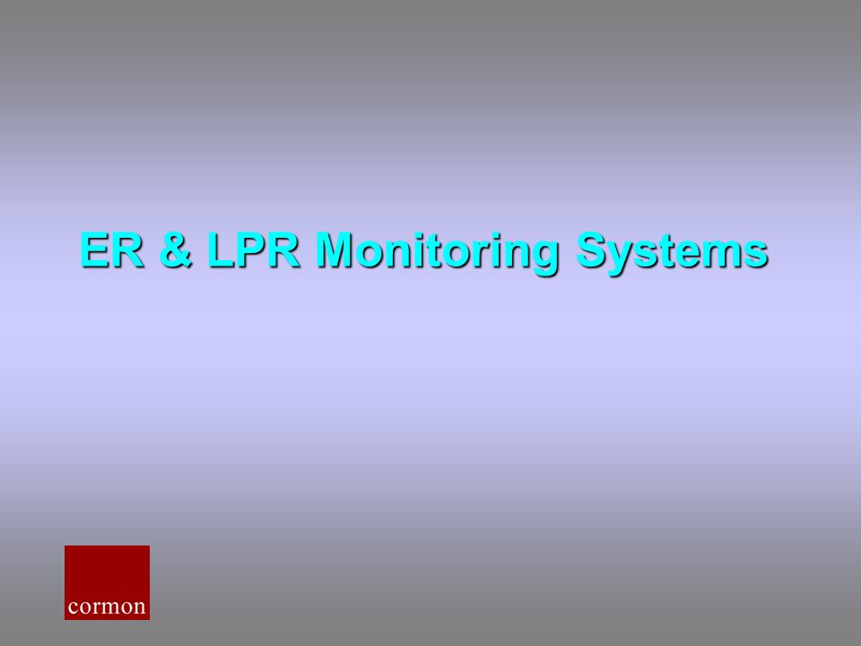 ER & LPR Monitoring Systems