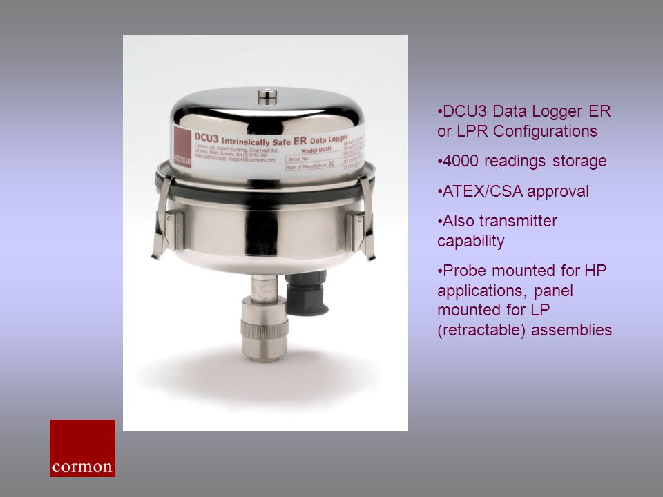 DCU3 Data Logger ER or LPR Configurations