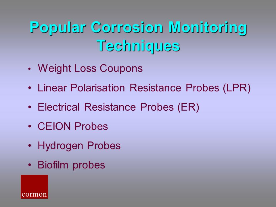 Popular Corrosion Monitoring Techniques