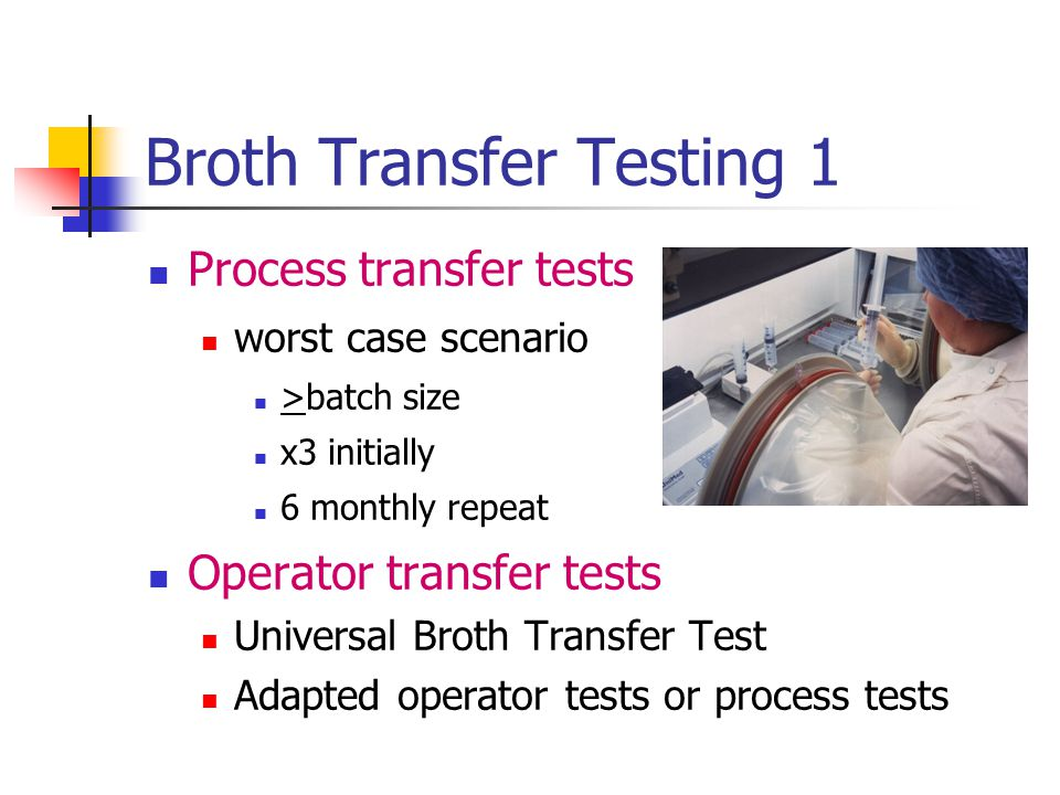Broth Transfer Testing 1