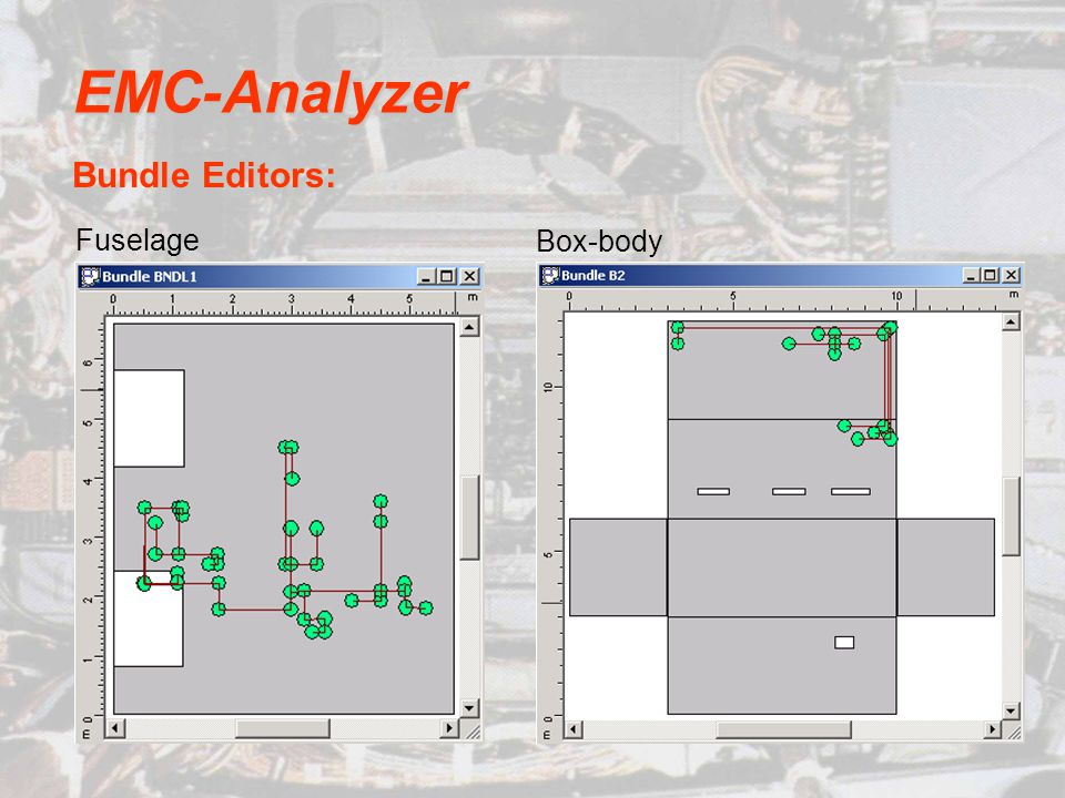 EMC-Analyzer Bundle Editors: Fuselage Box-body