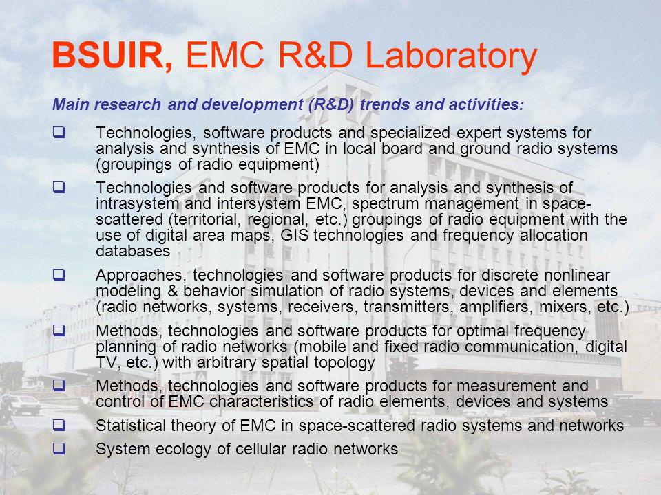 BSUIR, EMC R&D Laboratory