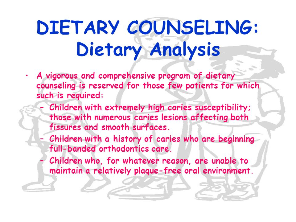 DIETARY COUNSELING: Dietary Analysis
