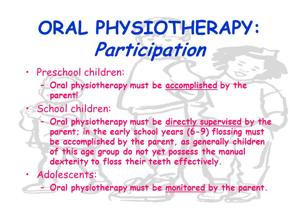 ORAL PHYSIOTHERAPY: Participation