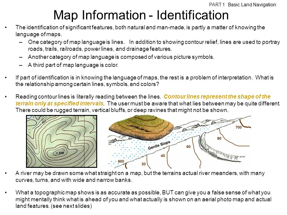 Map Information - Identification