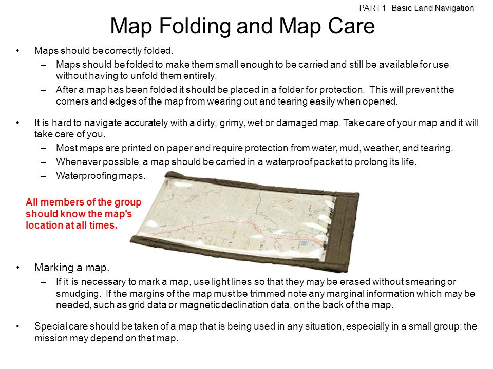 Map Folding and Map Care