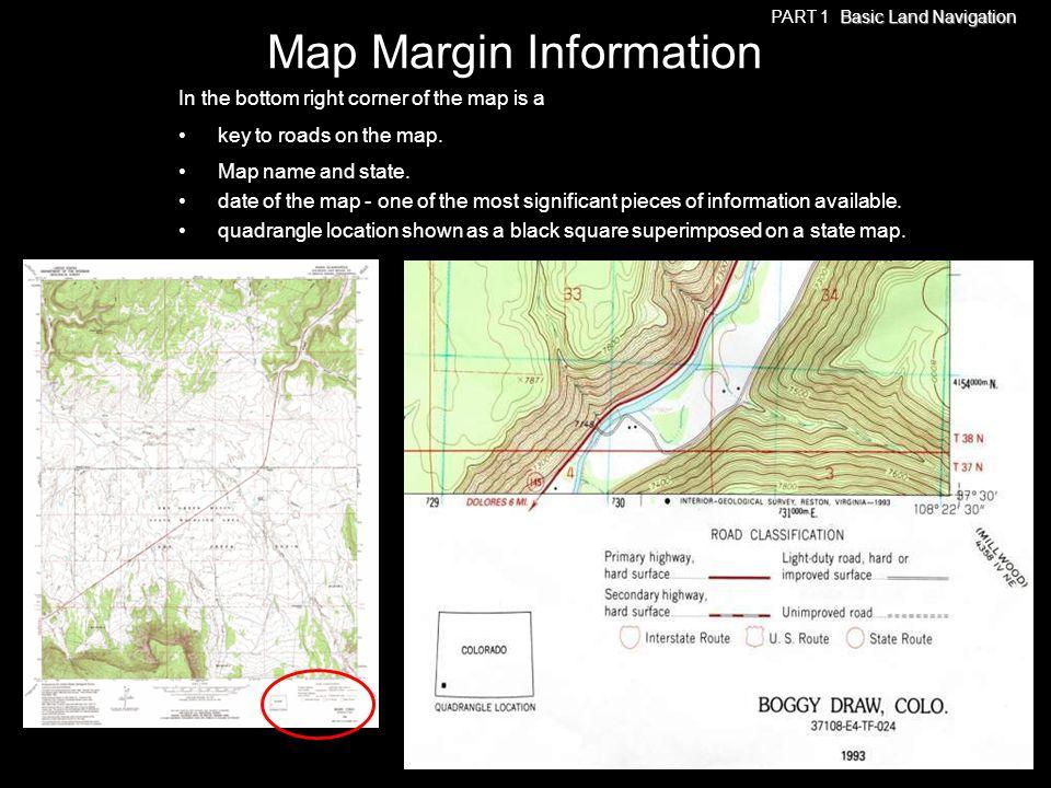 Map Margin Information