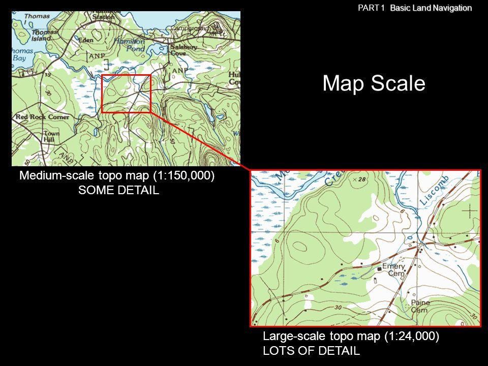 Medium-scale topo map (1:150,000)