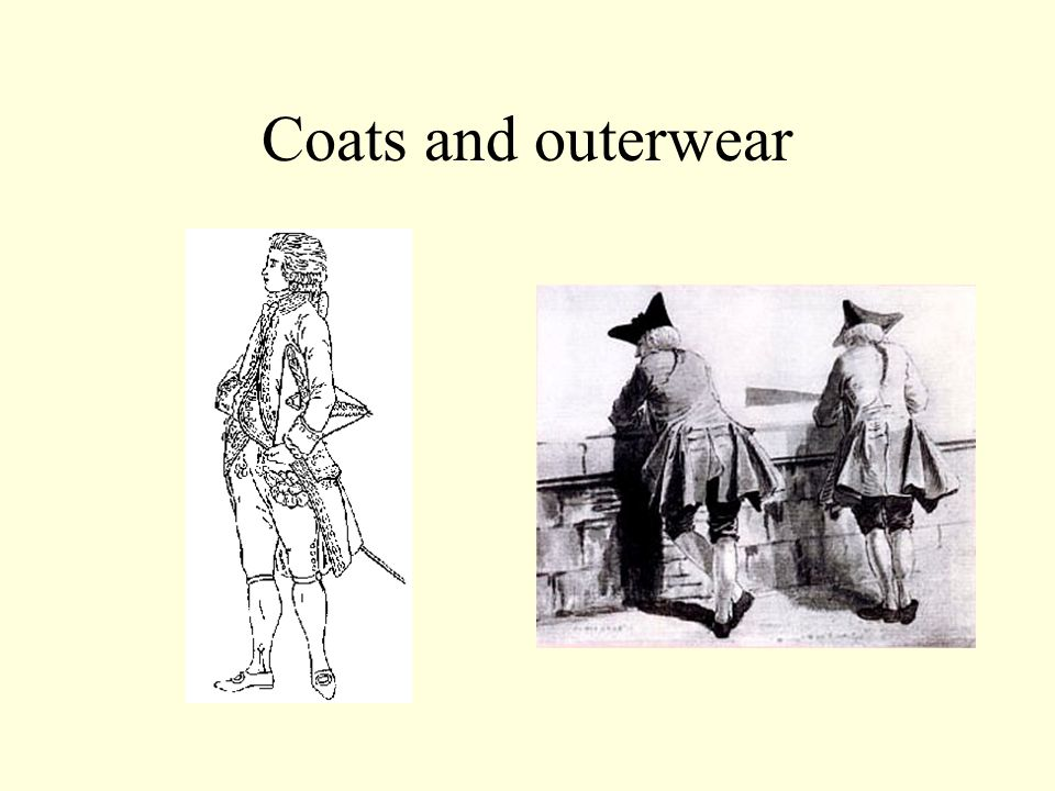 Coats and outerwear