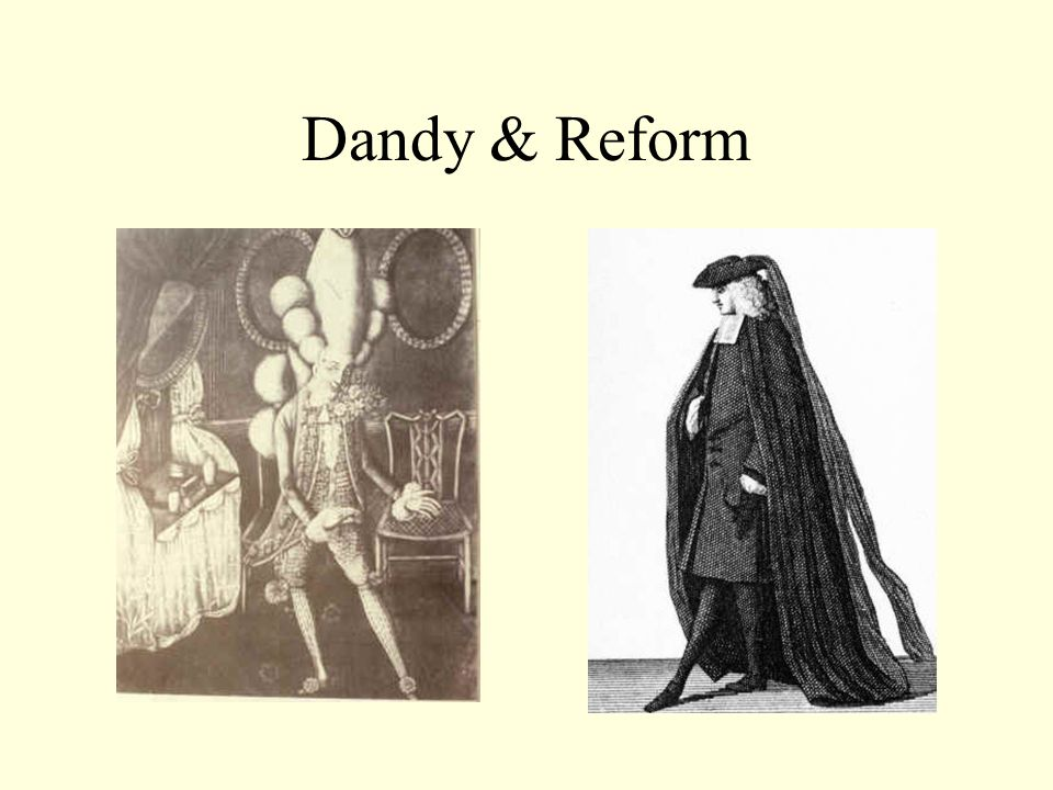 Dandy & Reform