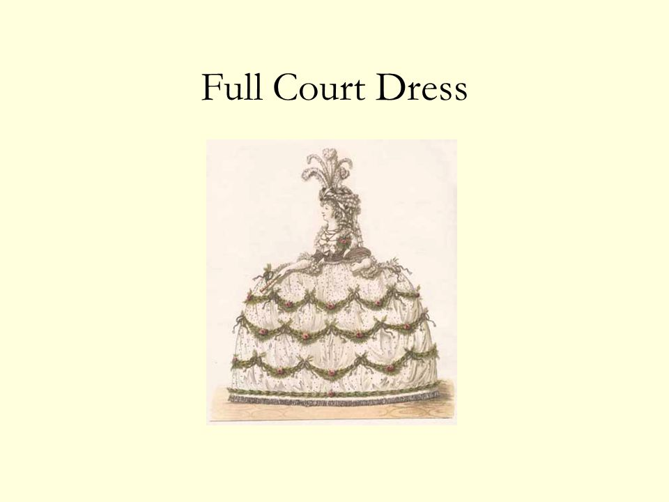 Full Court Dress