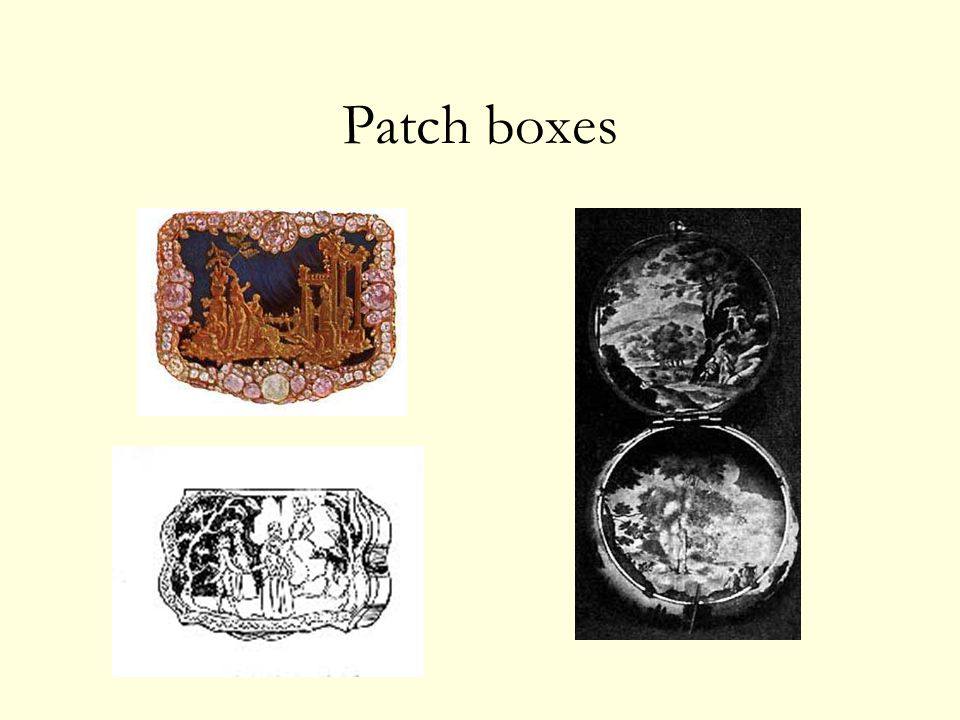 Patch boxes