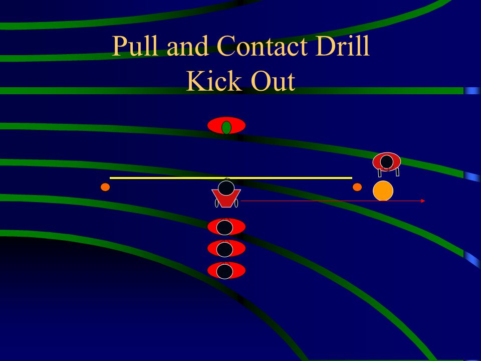 Pull and Contact Drill Kick Out