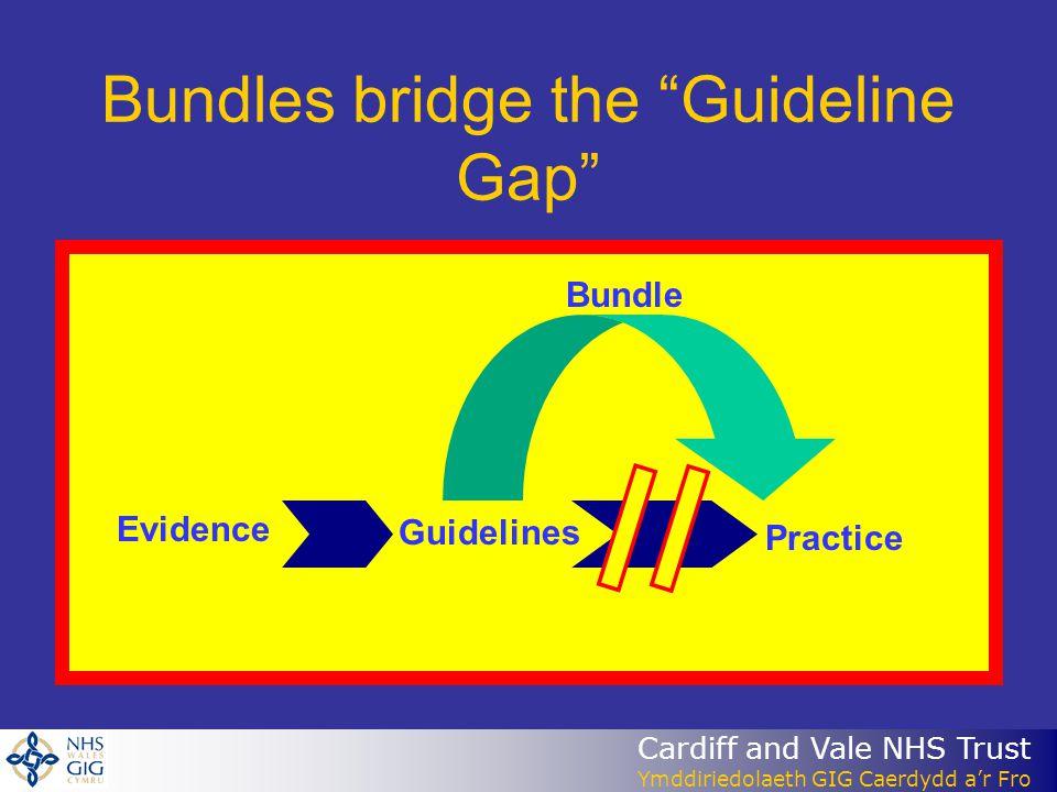 Bundles bridge the Guideline Gap