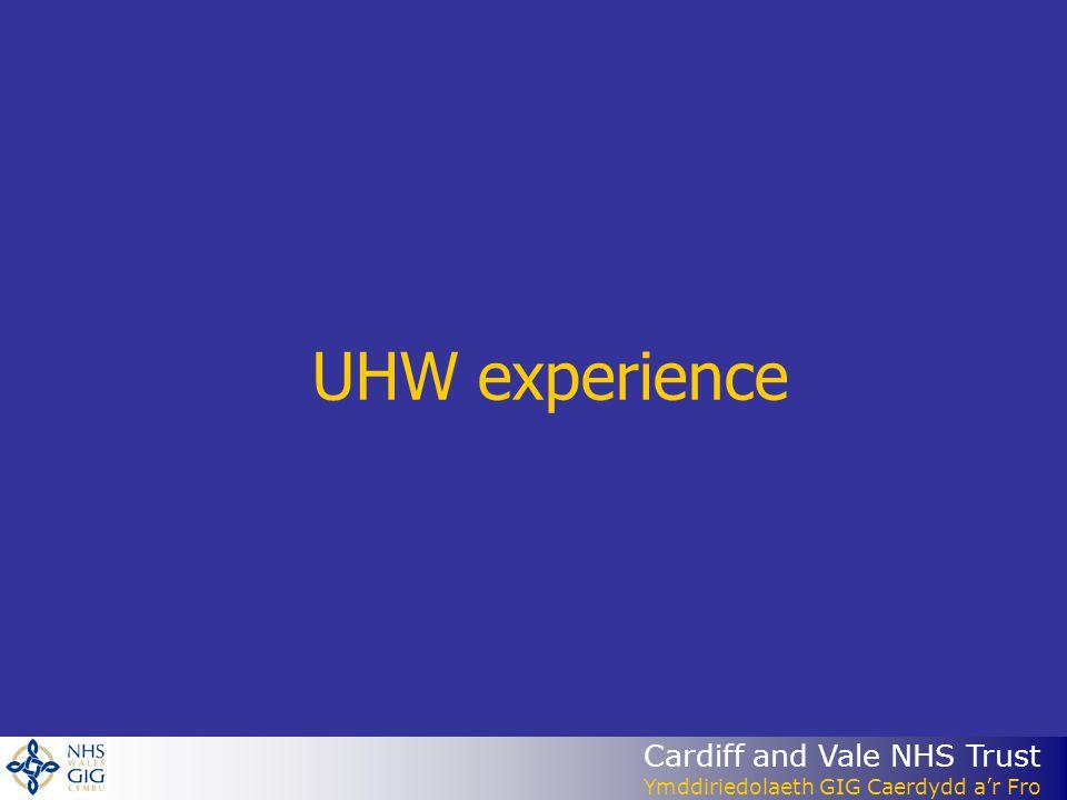 UHW experience
