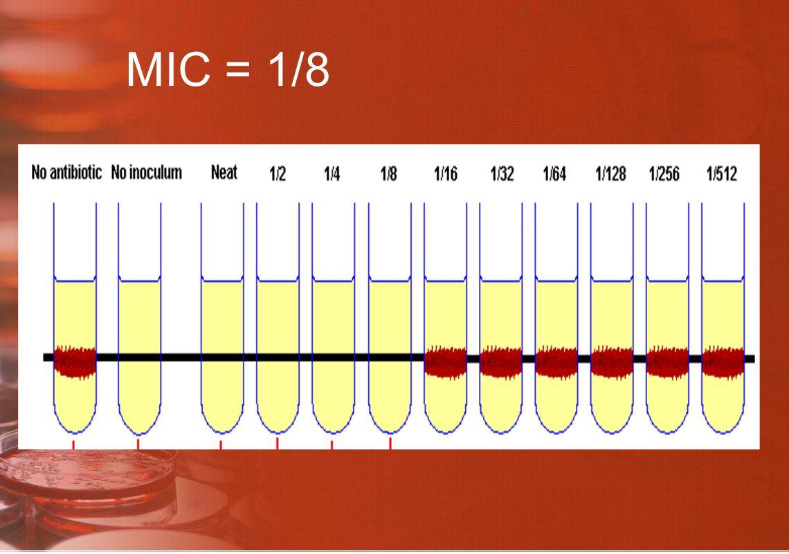MIC = 1/8