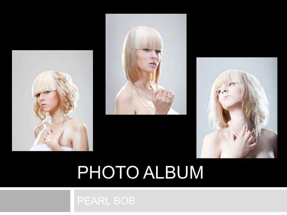 PHOTO ALBUM PEARL BOB