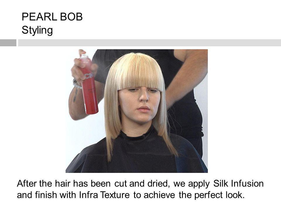 PEARL BOB Styling.