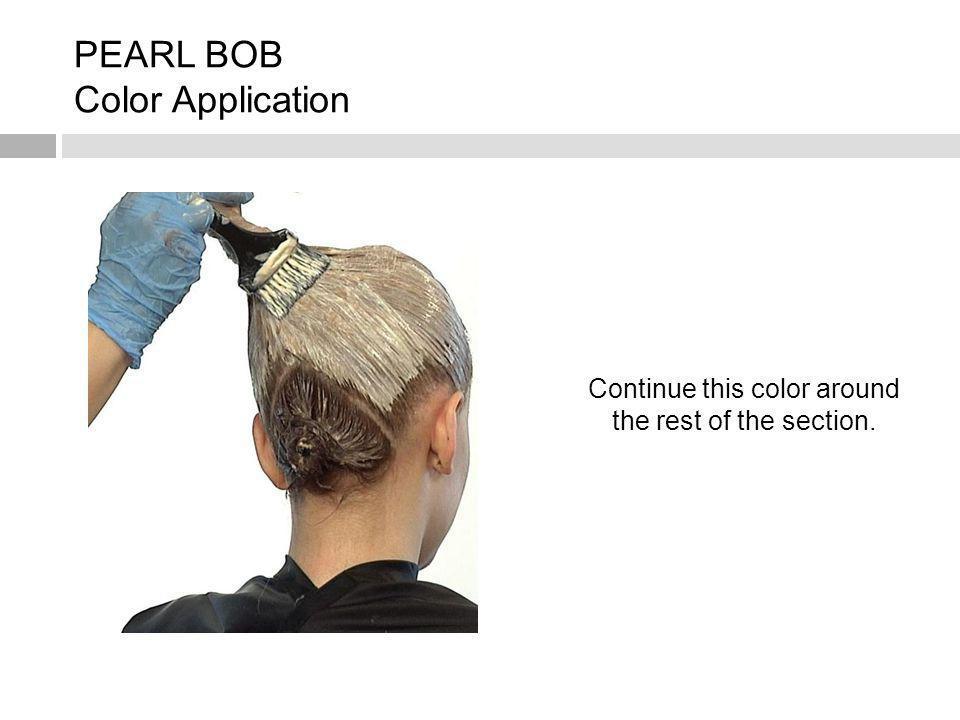PEARL BOB Color Application