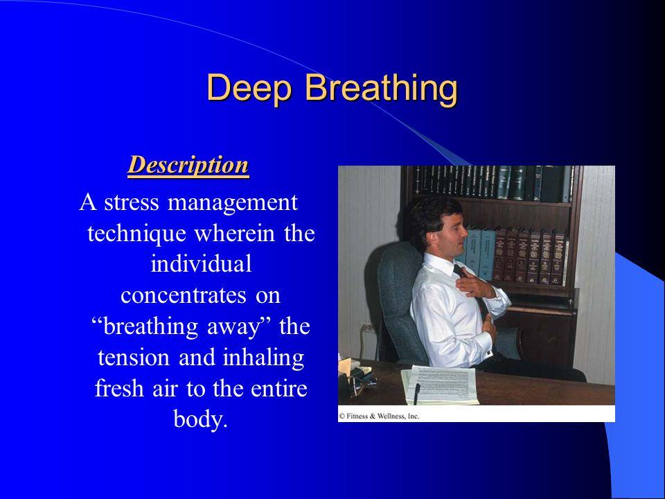 Deep Breathing Description