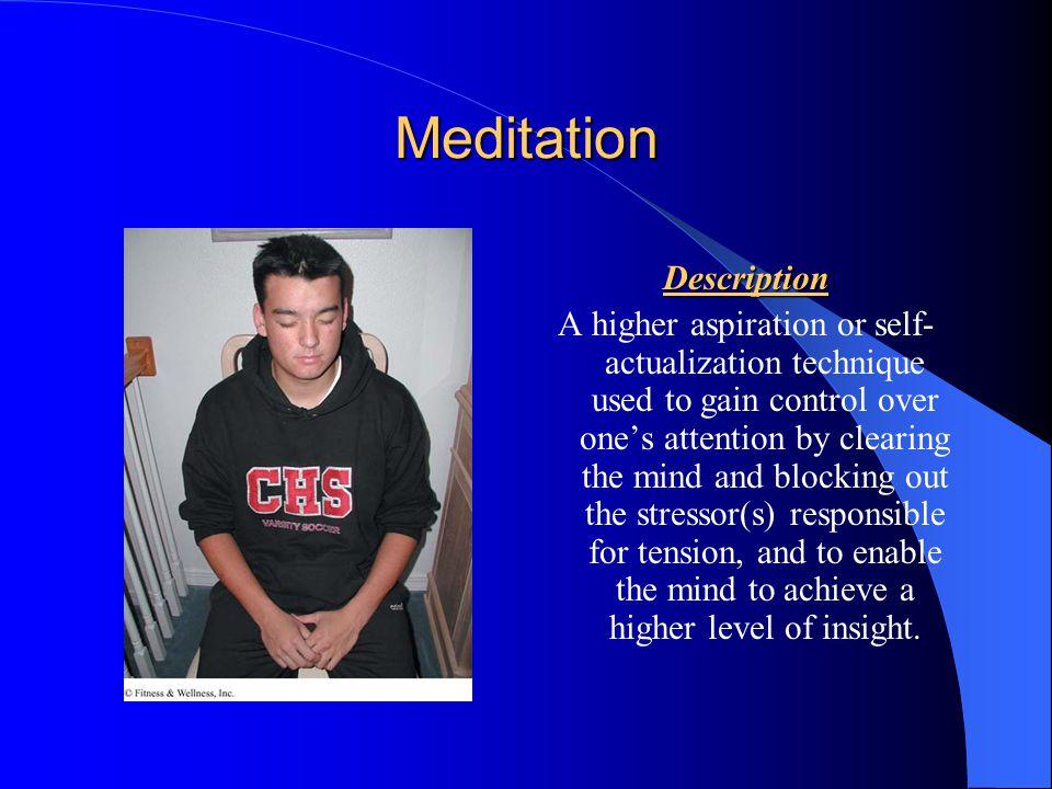 Meditation Description