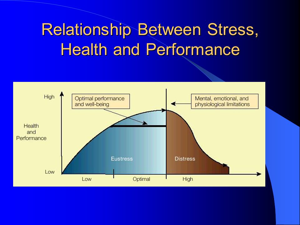 Relationship Between Stress, Health and Performance