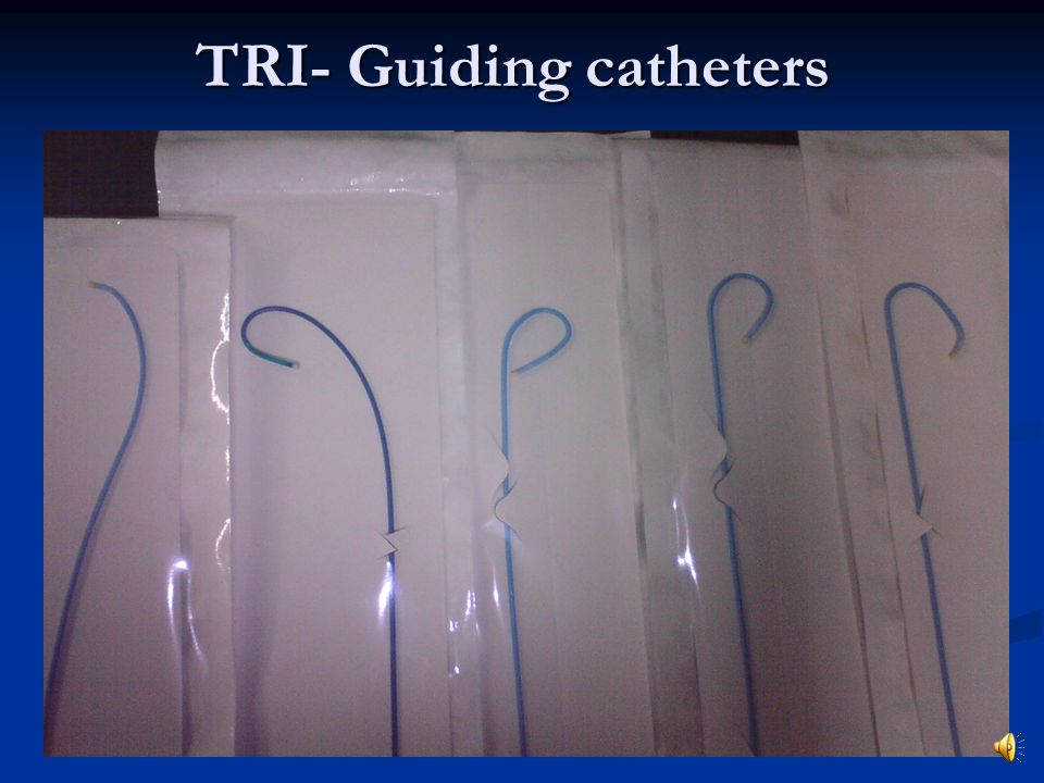 TRI- Guiding catheters