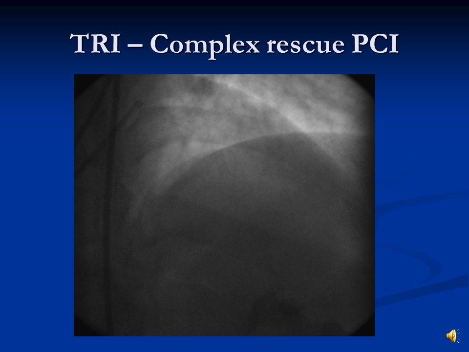 TRI – Complex rescue PCI