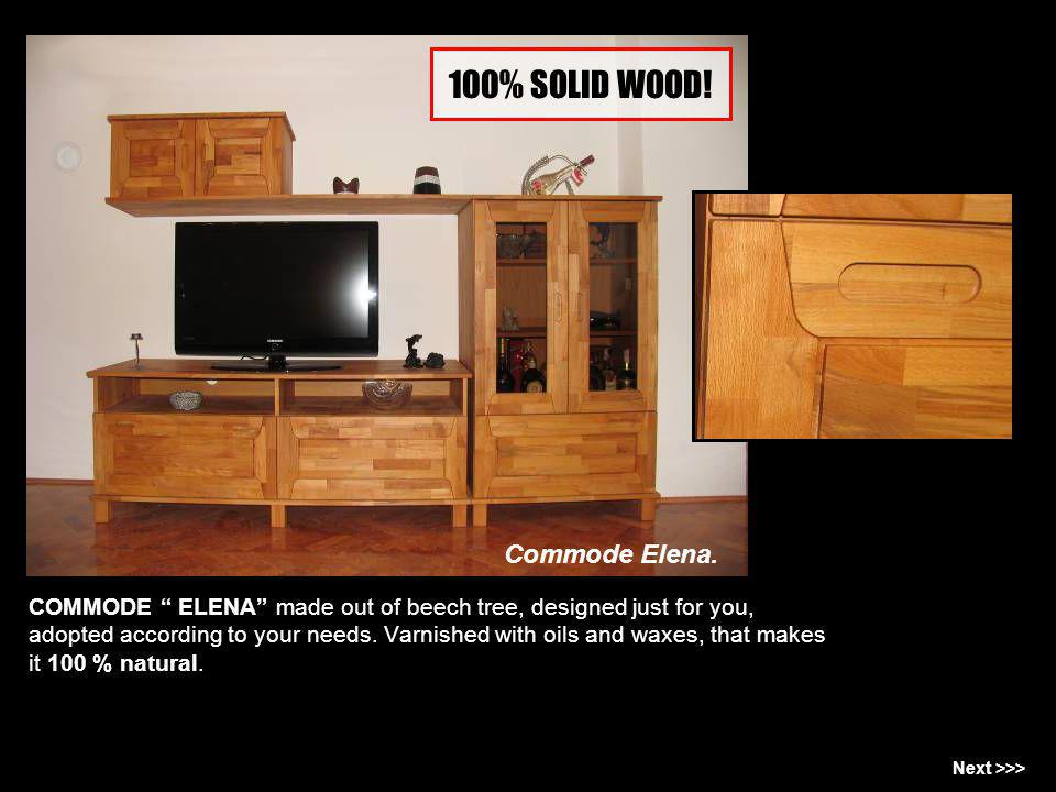 100% SOLID WOOD! Commode Elena.