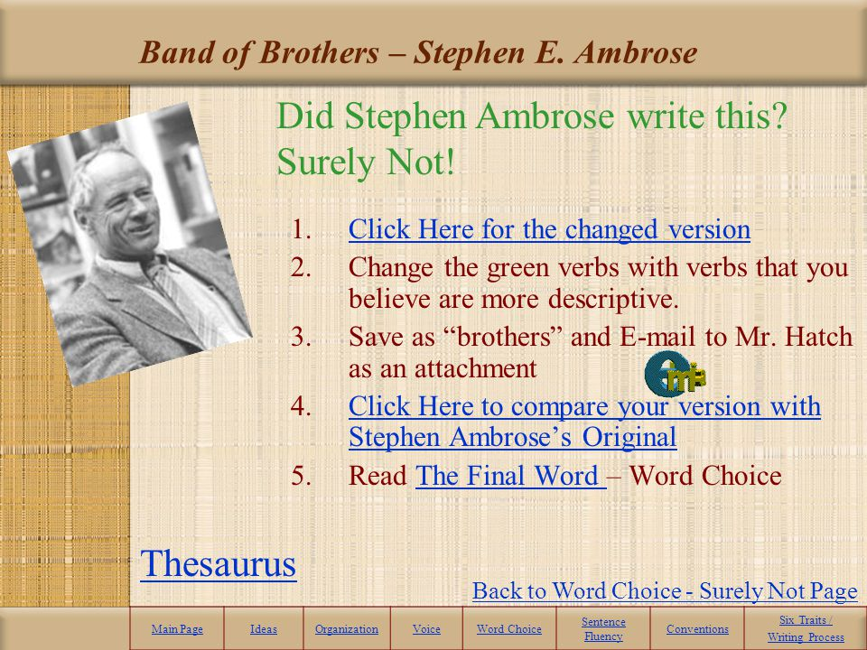 Band of Brothers – Stephen E. Ambrose