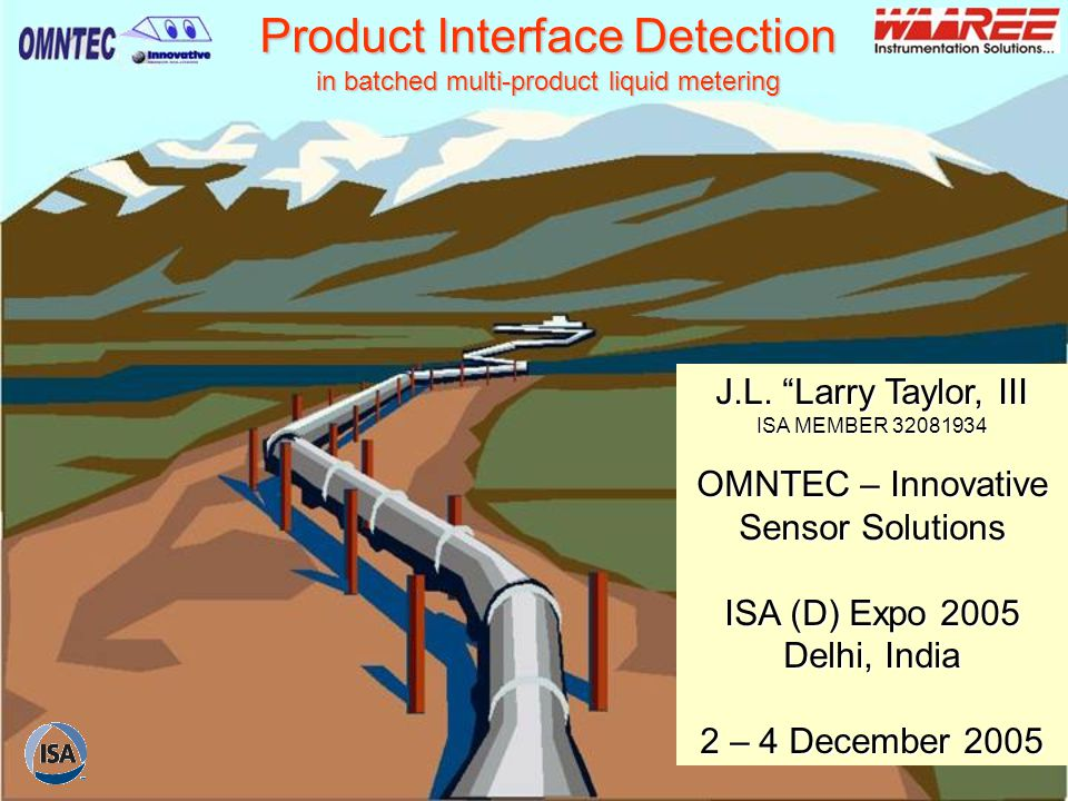 Product Interface Detection in batched multi-product liquid metering