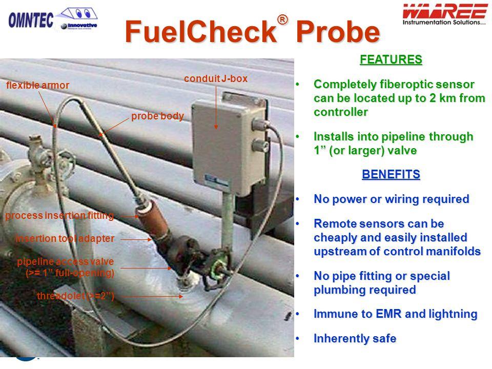 FuelCheck® Probe FEATURES