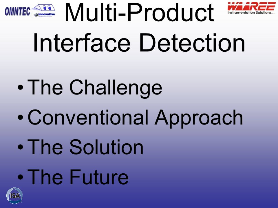 Multi-Product Interface Detection