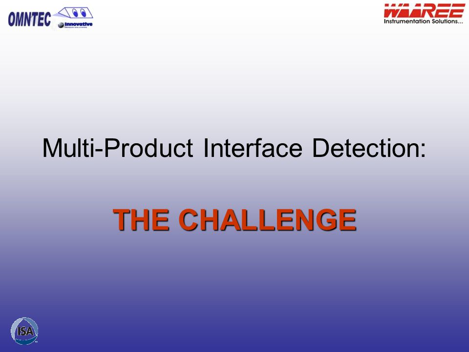 Multi-Product Interface Detection: