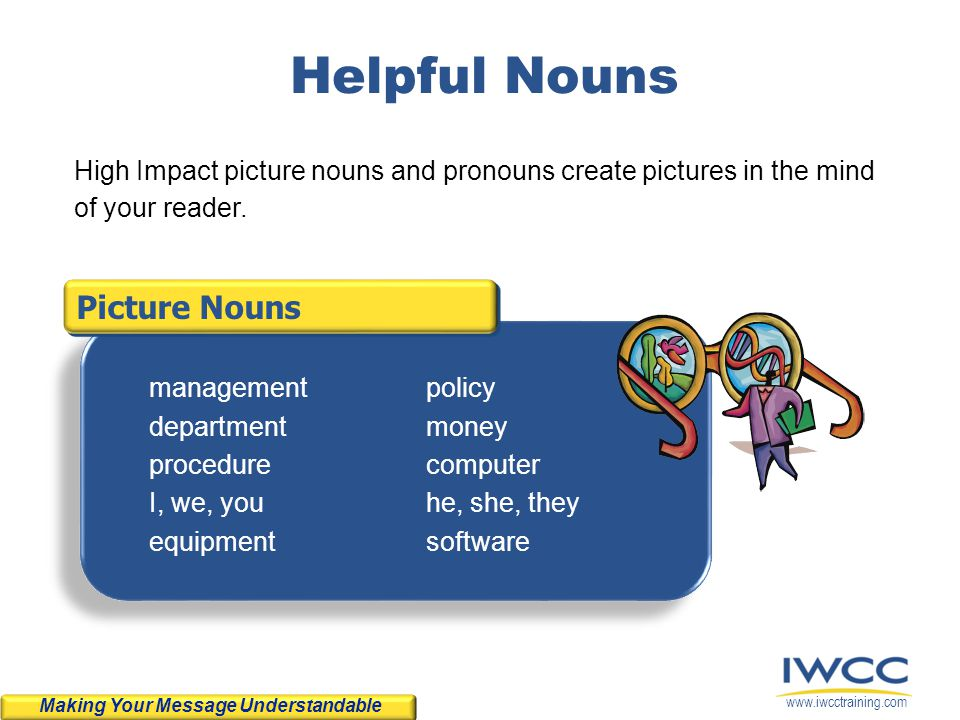 Helpful Nouns Picture Nouns