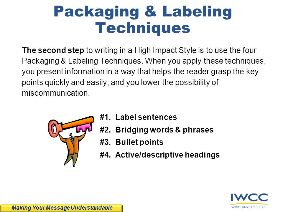 Packaging & Labeling Techniques