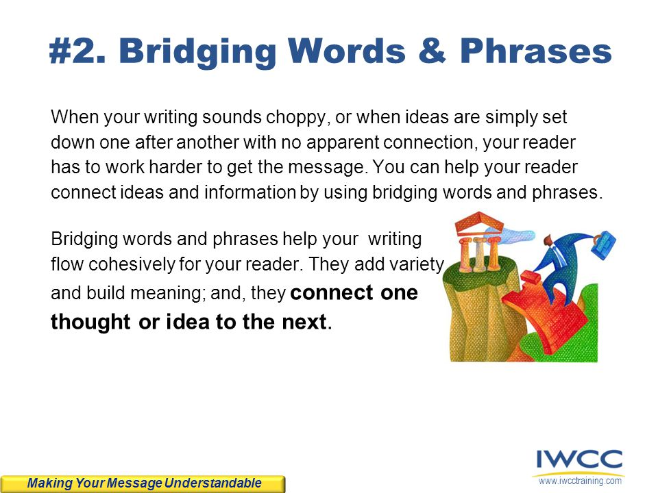 #2. Bridging Words & Phrases