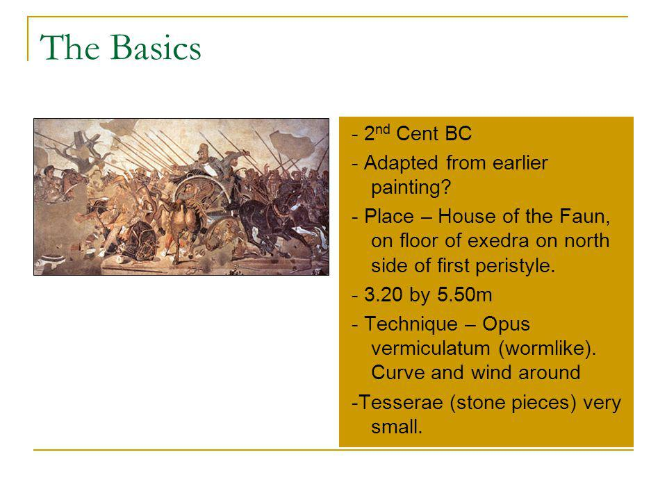 The Basics - 2nd Cent BC - Adapted from earlier painting