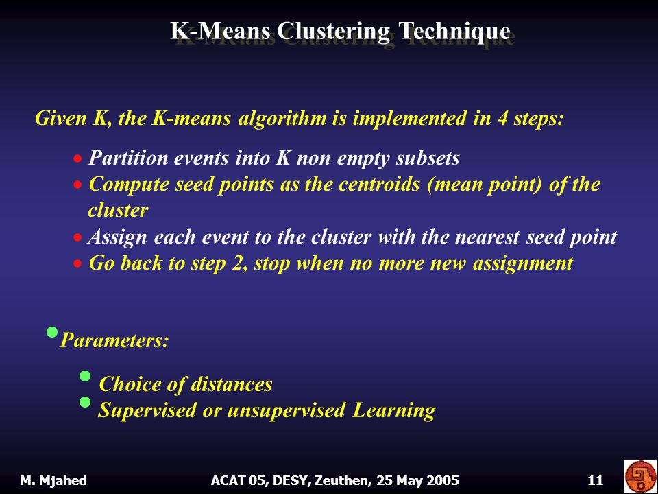 K-Means Clustering Technique