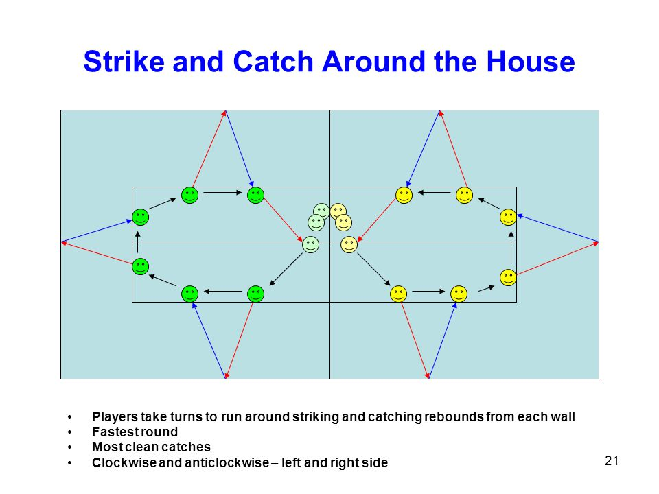 Strike and Catch Around the House