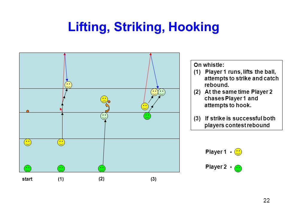 Lifting, Striking, Hooking